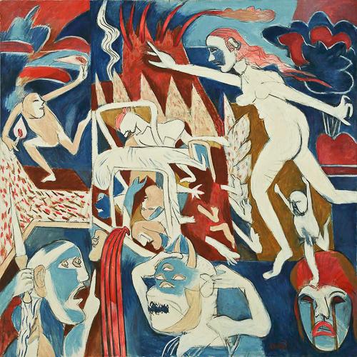 Gemälde Subrahmanyan
