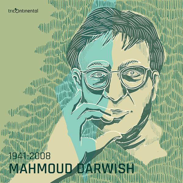 Porträt Mahmoud Darwish