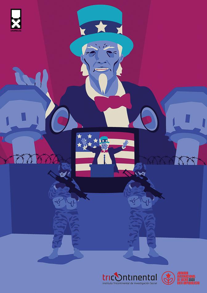 Poster von César Mosquera War Media Venezuela